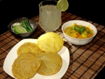 Methi Poori and Aloo Bhaji