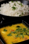 Thengai Paal Sambhar or Dhal with CoconutMilk